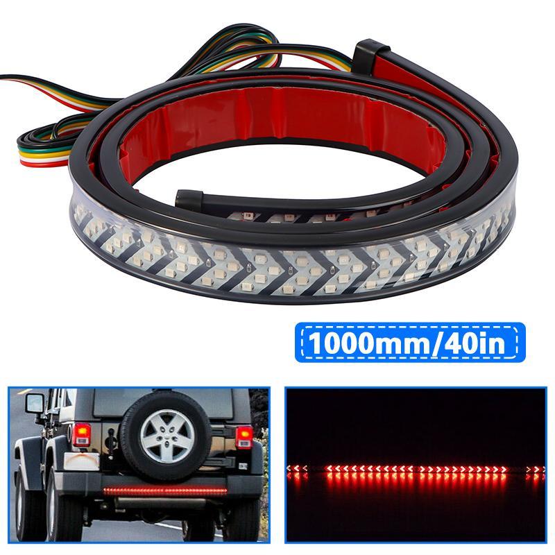 """Truck bagageira Faixa 40"""" LED Sequential Ligue Brake Signal cauda reverso Light Bar"""