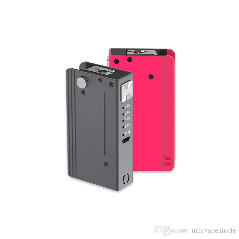 High Quality Vape Pod System OEM Electronic Cigarette Box Vape Mods Rechargeable Battery Compatible 510 Thread Vape Mods