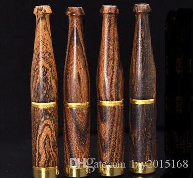 новый L трубы курение мундштук бутик красное дерево черное дерево