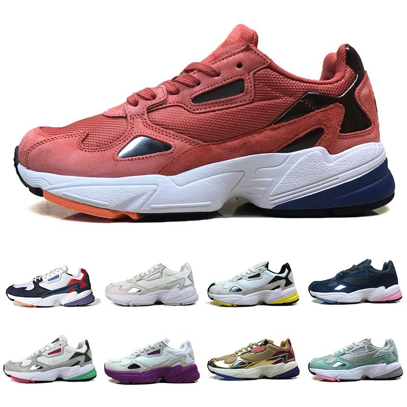 Venda quente 2019 Falcon W Mulheres Sapatos Casuais Para Mulheres de Alta Qualidade sapatos de luxo tênis de grife Originais jogging ao ar livre Tamanho 36-45