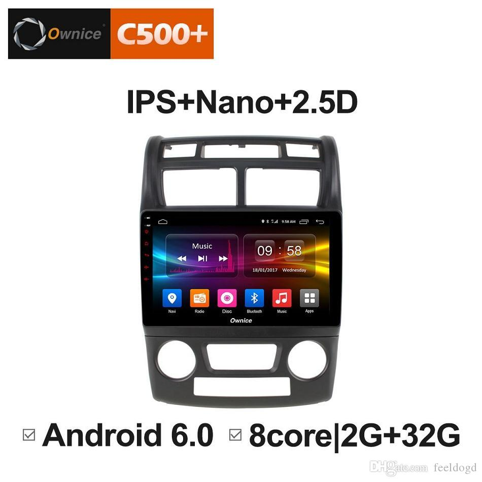 "9"" 2.5D Nano IPS Screen Android Octa Core/4G LTE Car Media Player With GPS RDS Radio/Bluetooth For Kia Sportage 2007-2010 #5882"