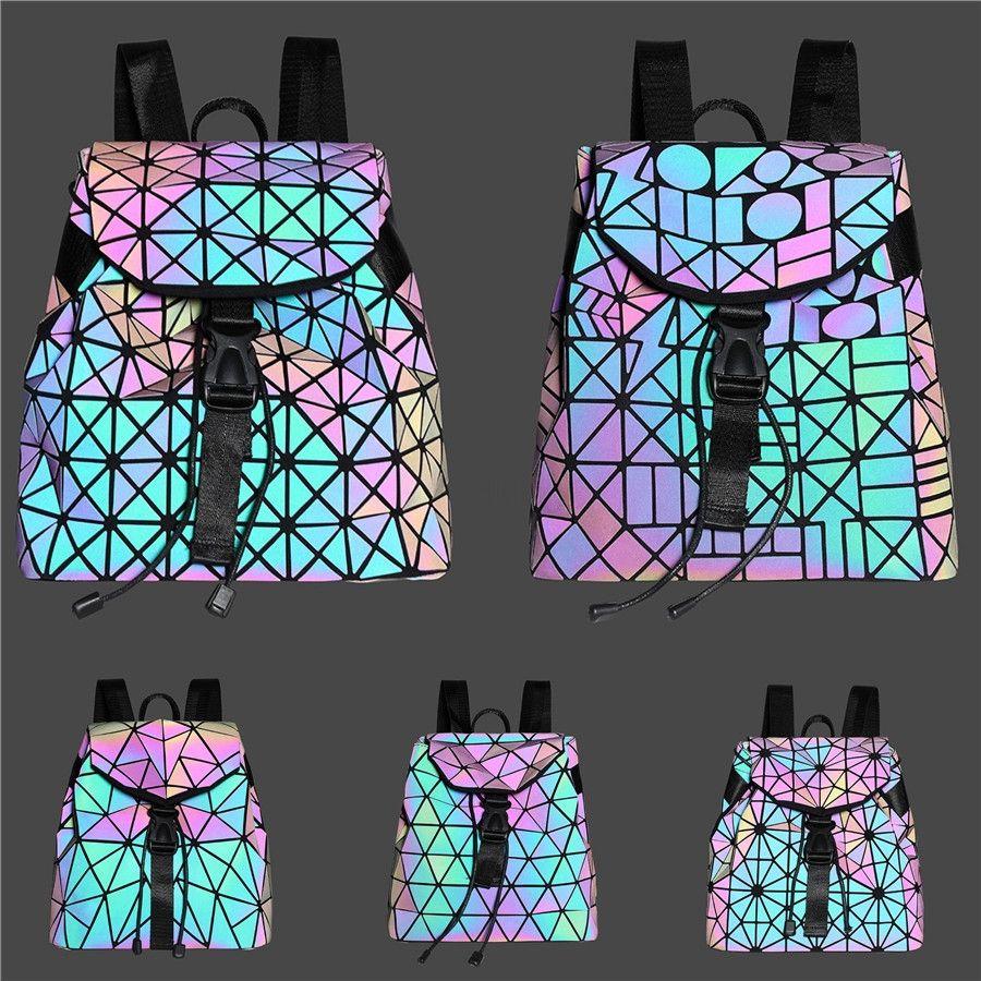 Новый роскошный женский рюкзак из натуральной кожи дизайнерский бренд наплечные сумки женские повседневные геометрические овчины дорожная сумка клатч #379