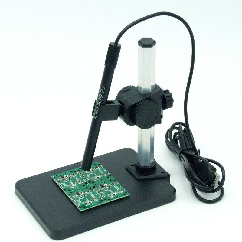 Freeshipping Microscopio Microscópio Digital Termômetro Usb 600X USB 8 LEVOU Lupa Câmera Andonstar Ajustável