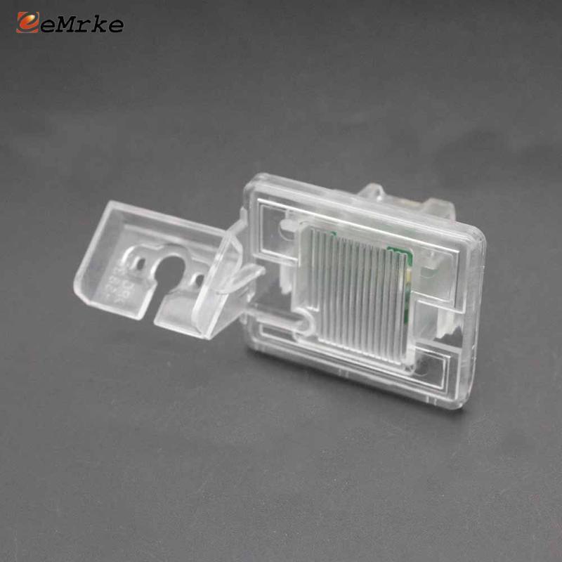 EEMRKE Autorearview-Kamera mit Halterung Led Kennzeichenleuchte Gehäuse für V Vito W477 W166 GLE GLS X166 Metris