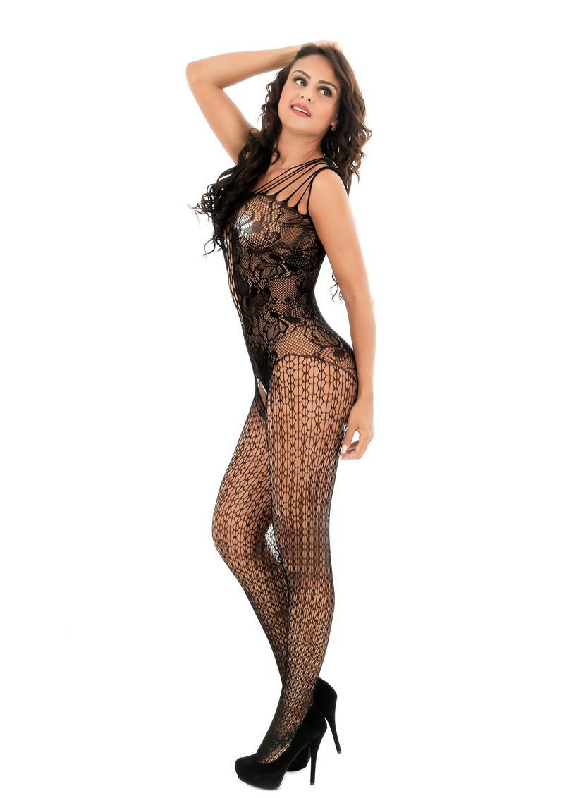 Femmes sous-vêtements sexy ouvert entrejambe serré collants bas lingerie sexy maille sous-vêtements femmes collants sans entrejambe bas résille costume