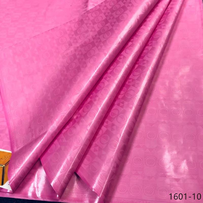 Getzner Brocade Bazin Riche Stoff 2019 NEUE afrikanische Bazin Riche-Spitze-Gewebe Nigeria Bazin Riche Getzner Kleid 19 Farbe 1601 T200619