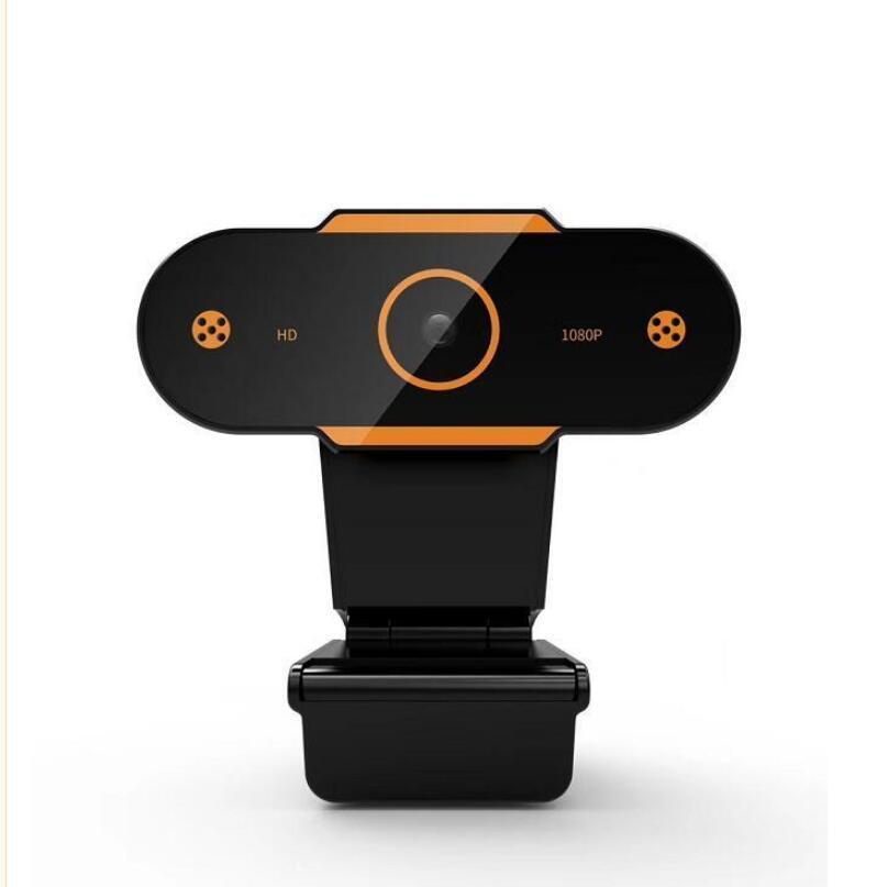 노트북 데스크탑 웹캠 카메라 온라인 교육 하이 실리콘 칩 마이크 컴퓨터 카메라 유연한 회전 베젤과 함께 풀 HD 웹캠 1920X 1080P의 USB