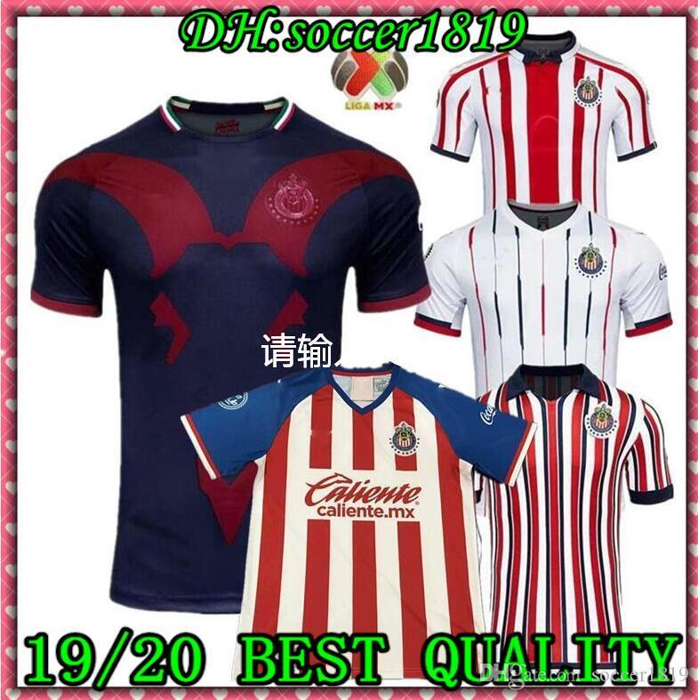 2019 2020CHIVAS Guadalajara club world cup LIGA MX Club America UNAM soccer Jersey Club de Cuervos Football Camisetas Shirt Kit Maillot