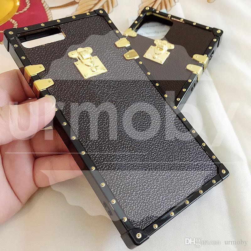 Designer casse del telefono di modo pelle PU per Samsung Galaxy S20 Ultra 8 9 10 PLUS NOTA 8 910 20 caso Dropshipping