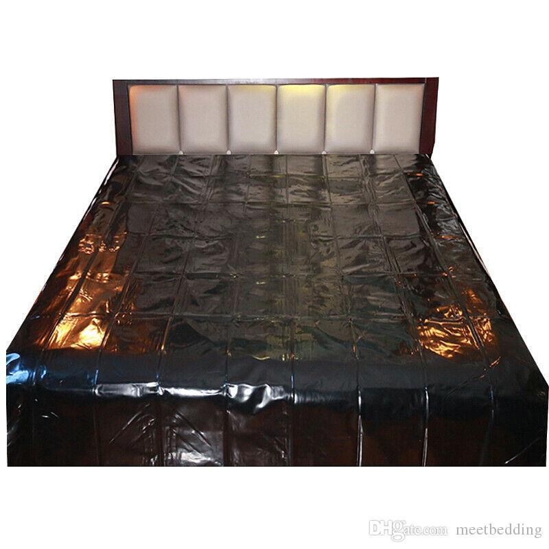 Folha Cozy Bed Sinta PVC para Wet Jogos, Full Size cama à prova d'água do conjunto de folhas