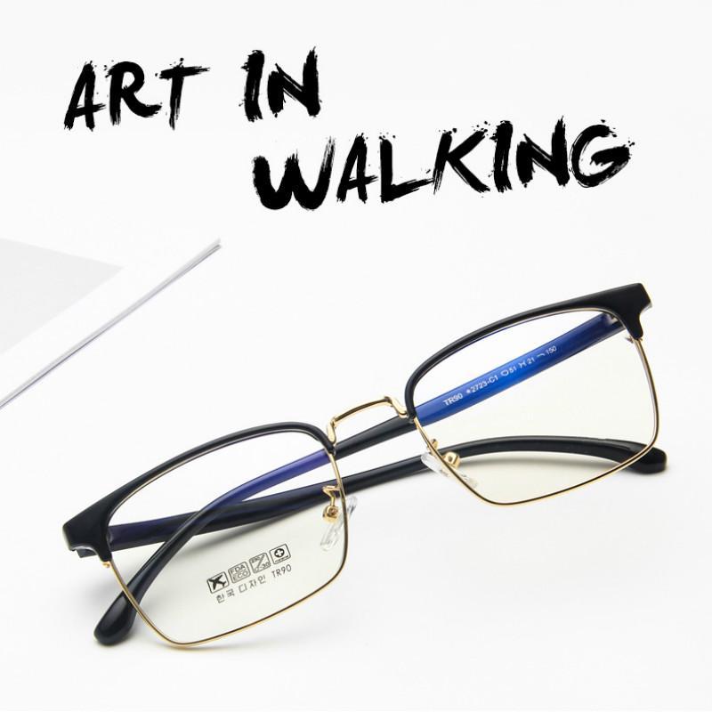 Gafas TR90 Espectáculo Marco Claro Retro Moda Óptica Miopía Marco de lentes