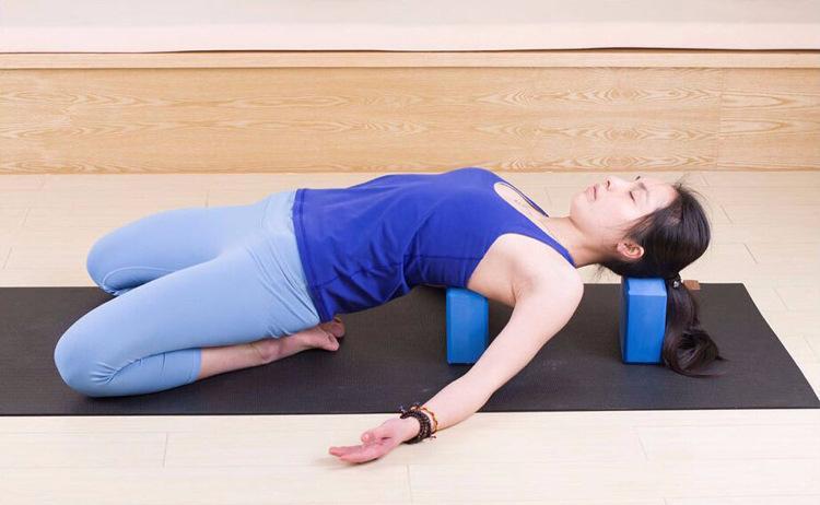 EVA blocos de yoga Bricks High Density Espuma Foam Início Exercício da aptidão Ferramenta Prática Ginásio Saúde Alongamento Aid Corpo de Formação em Saúde Shaping