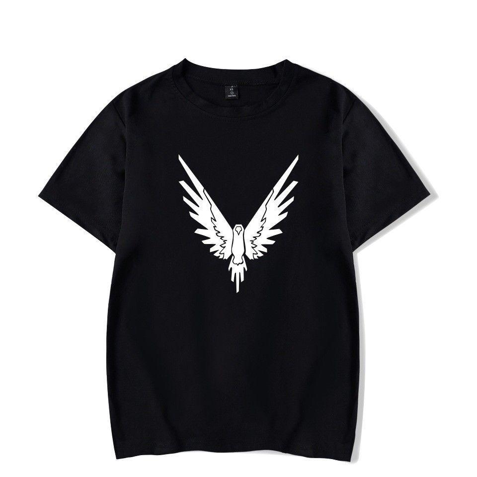 2018 hirigin Summer Casual New bird Men с коротким рукавом O-образным вырезом Animal T-Shirt