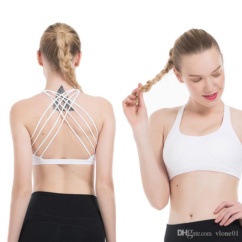 Спорт Camisoles Bra Top Quality Yoga женщины Стилист футболка Gym Vest Workout Бюстгальтер Женщина Одежда Tank Top Размер XS-XL