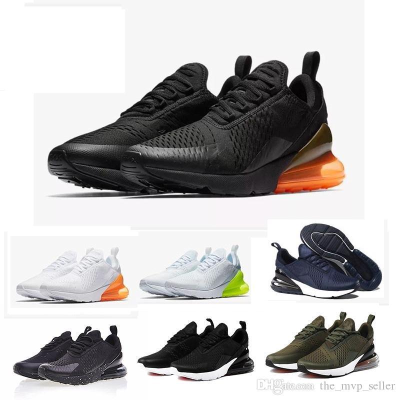 Nuovi uomini Scarpe Sneakers Donne addestratori correnti di sport scarpe da tennis 27c Triple Nero Bianco Grigio Scarpe