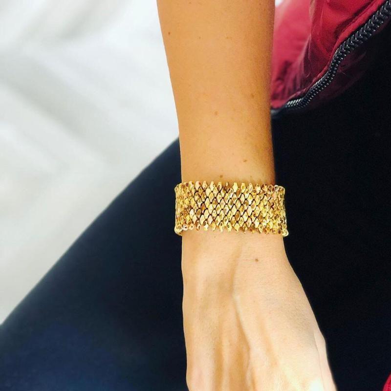 Bracelet Bracelet Tila Perles de SHINUSBOHO Hommes Femmes Mode Classique Bijoux Bracelets Mujer Moda 2020 Couple cadeau à la main