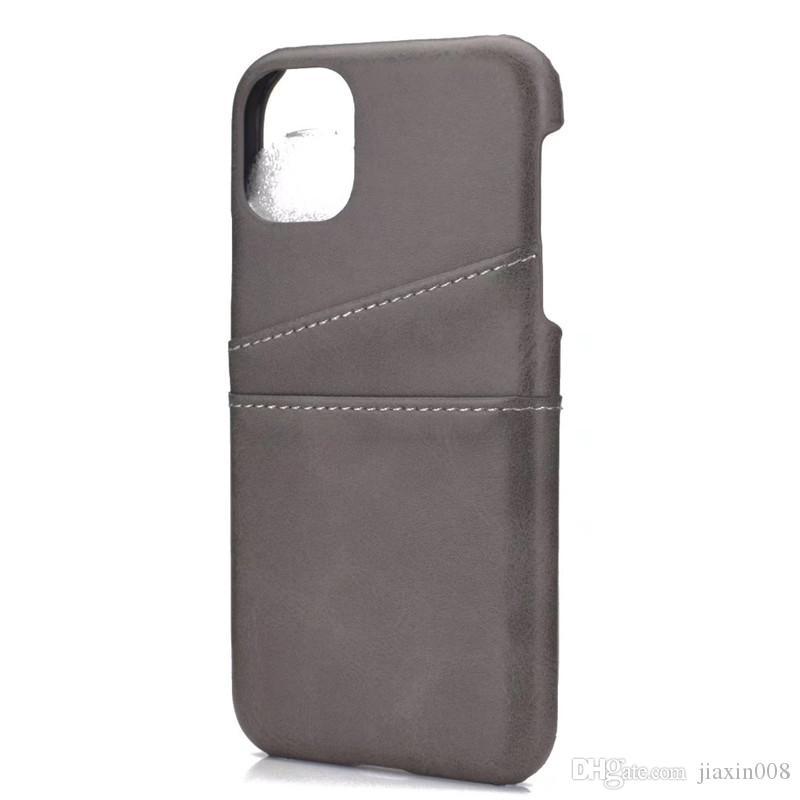 iPhone 11 Pro Max iPhone 11 Kılıf Lüks Arka Kapak iPhone 11 Kart Sahibi Cep Telefonu Davasında Pro Kapaklar İçin