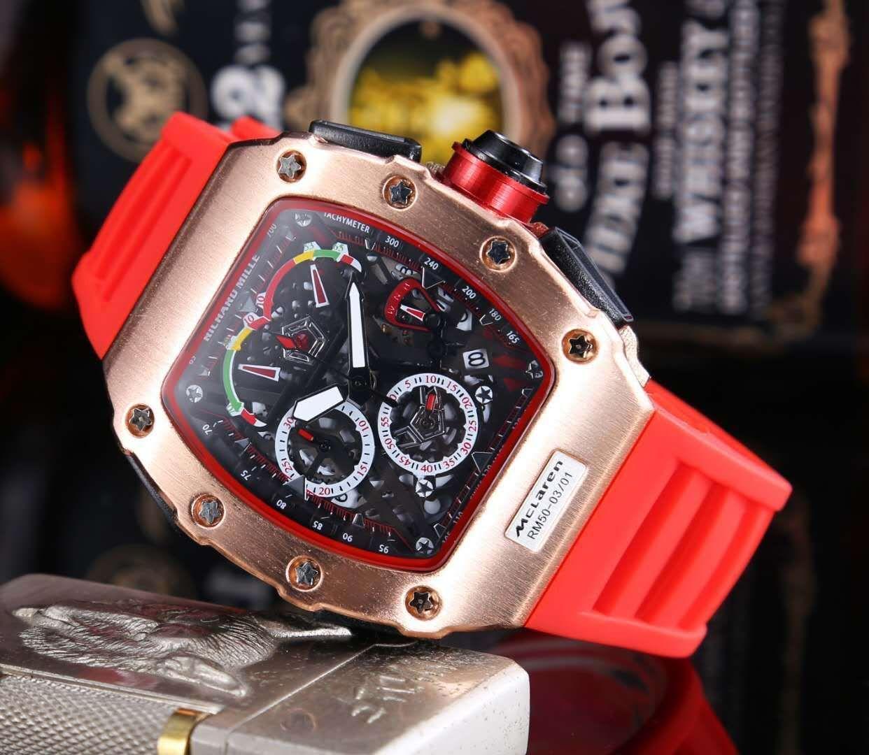 2020 Top Sell Swiss Quartz Watch Wrist watch Stainless Steel Big Dial Men Sport Military DZ Army Calendar Watch Silicone Strab Man Clock