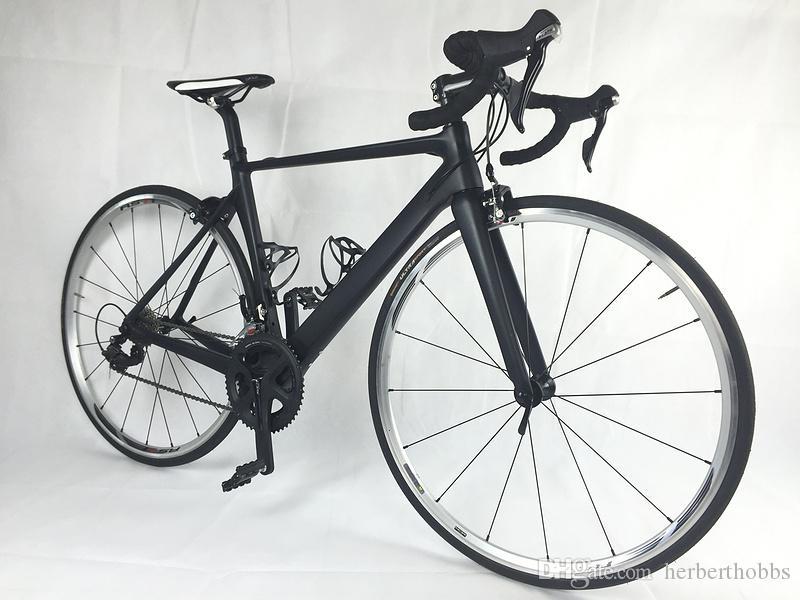 Bike fai-da-te bicicletta da strada completa in carbonio con manubrio R7000 Groupset