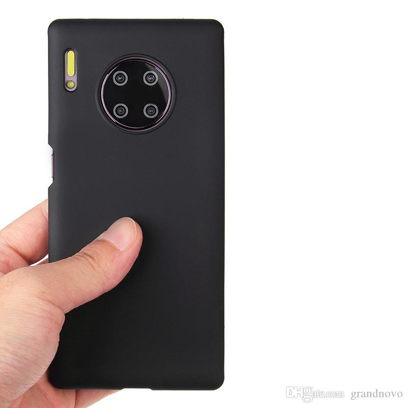 Süßigkeit Farbe dünne Matte Frosted weiche TPU Gel-Silikon-Gummi-Abdeckungs-Fall für Huawei Honor 20 Pro 10 Lite Anmerkung 10 V30 V20 9X 8C 6C 8A 8S Play 3