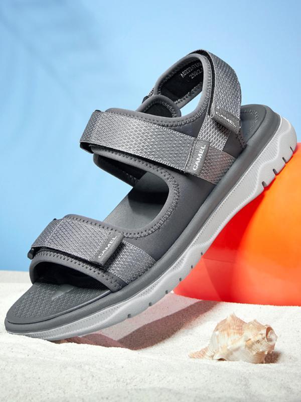 CAMEL Garden Casual Confortável Men Sandals macia Caminhadas Pesca verão respirável sapatos Masculino Leve Calçados