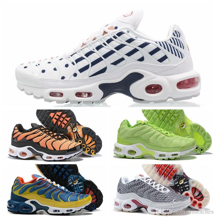 TN moda para hombre SE fucsia del láser con zapatillas Tns entrenadores de atletismo naranja azul zapatillas de deporte de oro de diseño cestas des Chaussures