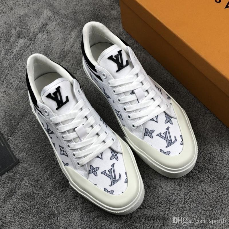 A1 Hochwertige Mode wilden Freizeitschuhe schnüren Männer Persönlichkeit Sport Luxus Herrenschuhe original Box-Verpackung Zapatos Hombre