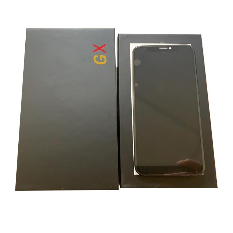OLED screen replacement for iphone X best quality GX oled display device completely assemble 3D touch screen panel high quality