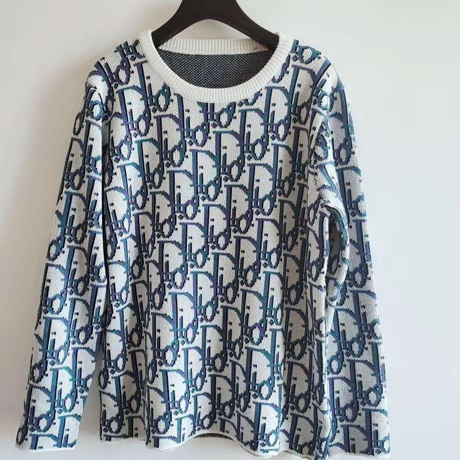 628 2020 Бесплатная доставка бренд же стиль свитер пуловер с длинным рукавом круглый вырез Письмо печати Женская одежда Цянь