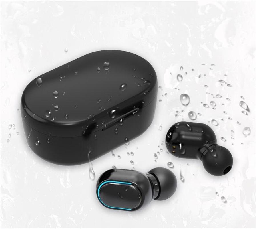 I9S Tws 5.0 cuffia auricolare con finestra pop-up stereo TWS auricolari per tutto il telefono con il carico Cuffia di sicurezza senza fili Bluetooth DHL # OU526