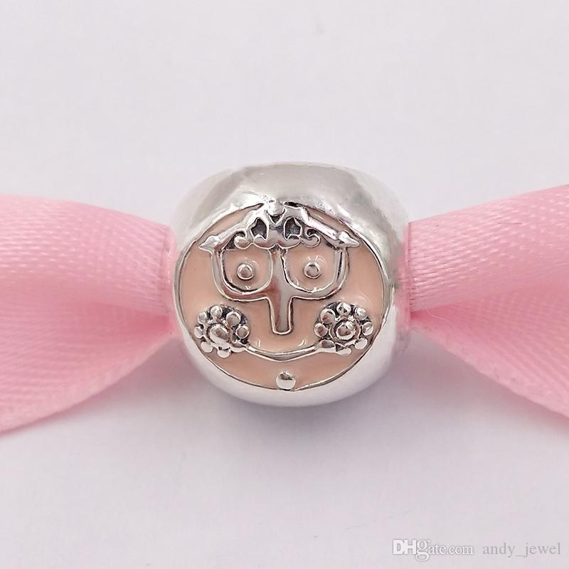 Authentisches 925 Sterlingsilber-Korn-Charme-Sitz-europäische Pandora Style Schmuck Armbänder Halskette 223
