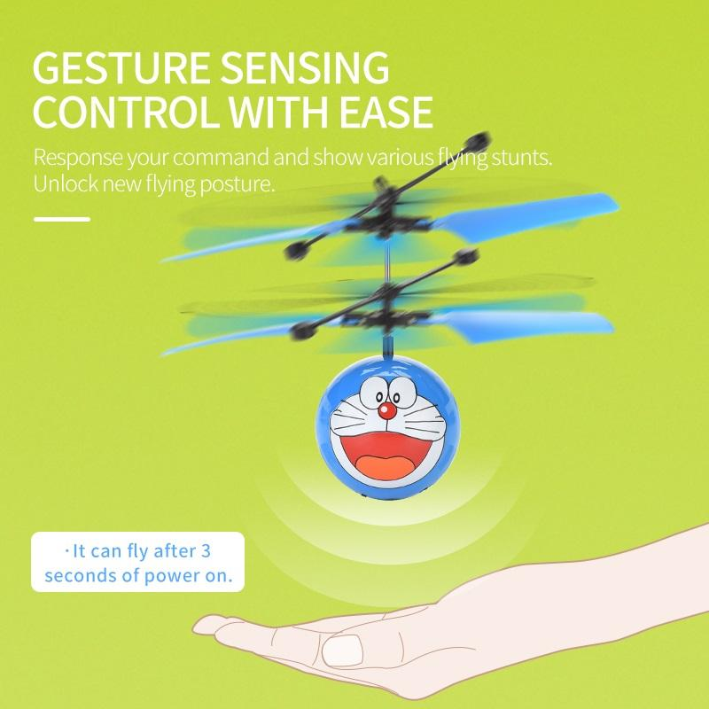 RC toys Intelligent induction remote control flying ball Intelligent induction air vehicle can suspend Children toy
