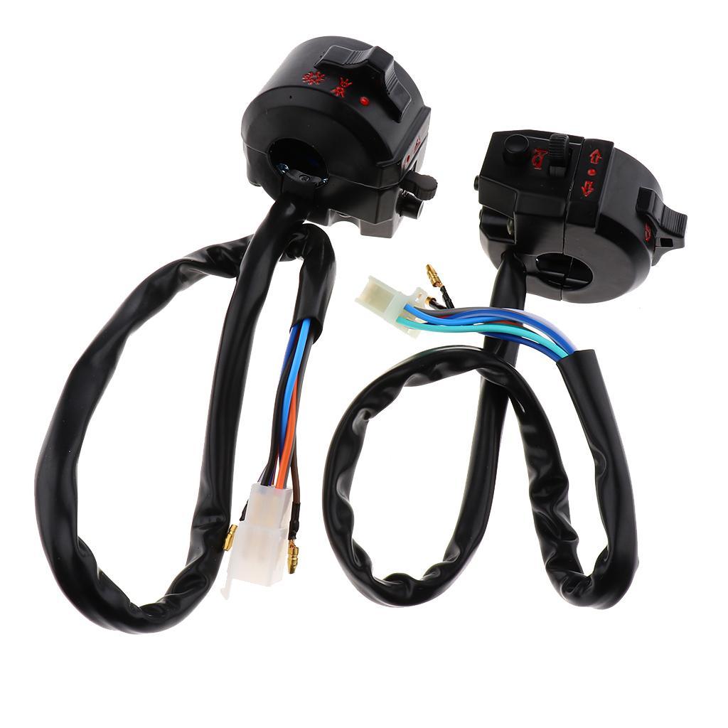 Controllo Girare Horn luce di segnale faro basso High Beam Sinistra Interruttore Kill Switch Per la Honda ZJ125 CG125 Moto Dirt Bike