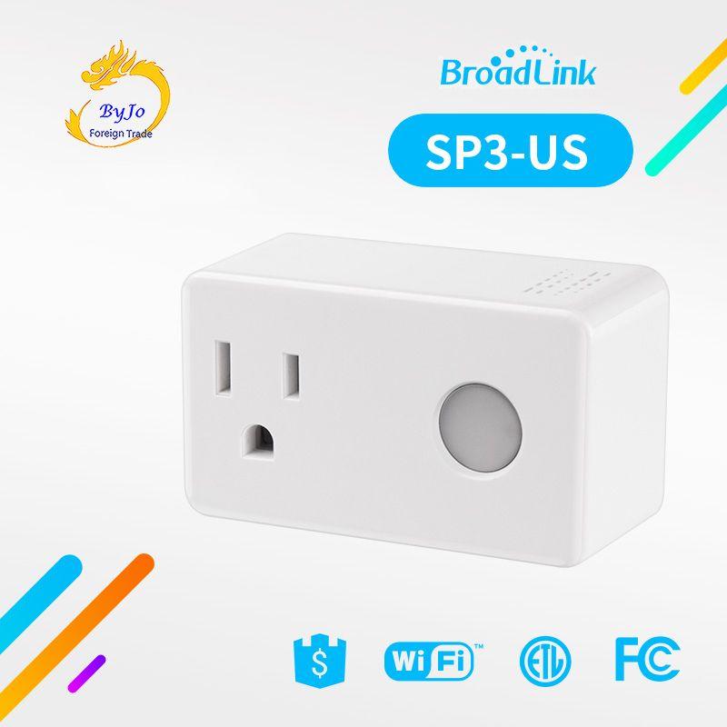 Broadlink SP3 الذكية التوصيل المقبس الموقت التبديل المنزل الذكي تحكم wifi تحكم لاسلكي السلطة المقبس التوصيل ل alexa جوجل