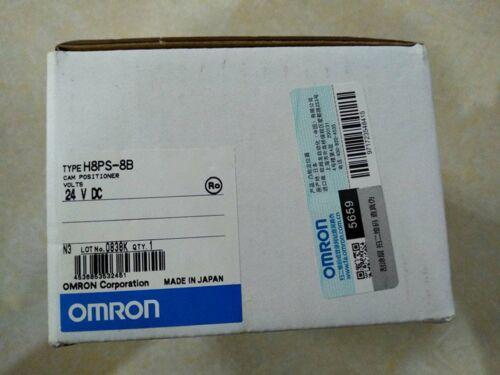 Nueva Omron Posicionador de levas H8PS-8B DC24 H8PS8BDC24 H8PS-8B #XR 1 año de garantía
