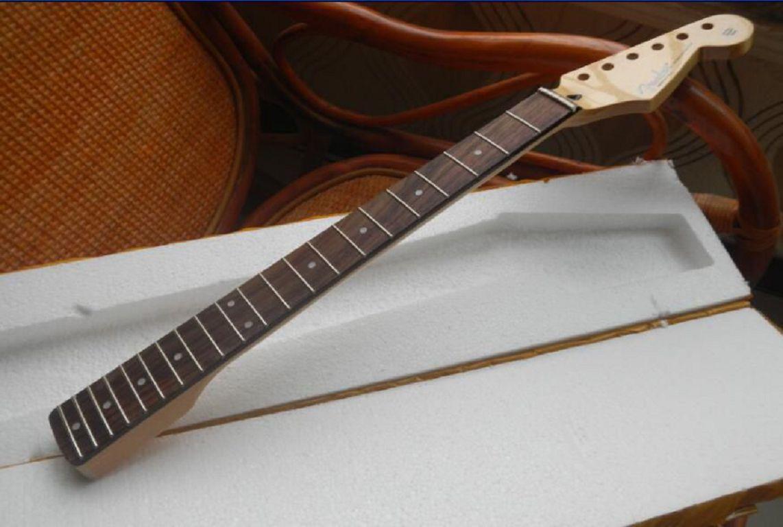 무료 배송 사용자 정의 가게 지판 21 프렛 Stratocaster 일렉트릭 기타 목을 로즈 우드 -17-11