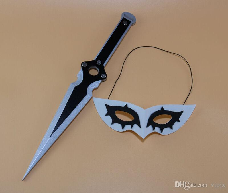 Hot Cakes Persona 5 Joker Cosplay Masque Prop Halloween jeu Accessoires Couvre-chef