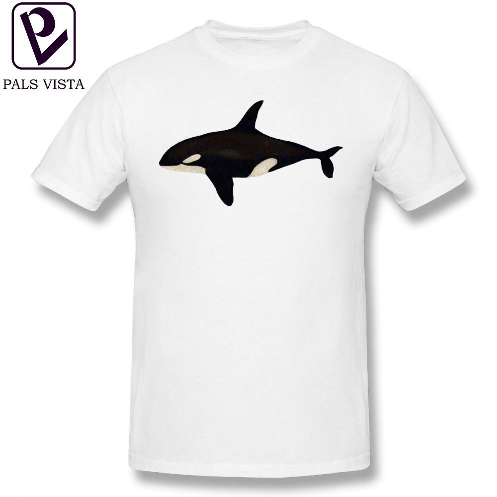 Orca-T-Shirt Killerwal-T-Shirt Streetwear Graphic T-Shirt XXX Kurzarm Lustige Männer 100 Baumwolle T-Shirt