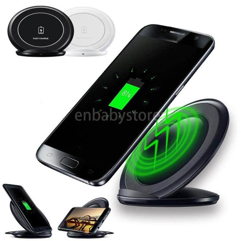 Rapide Nouveau Chargeur Vertical Sans Fil Chargeur De Charge Stand Dock Pour Samsung Galaxy S7 Bord Plus S7 Bord