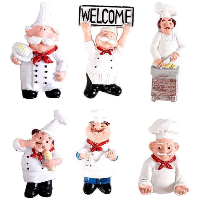 3D смолы шеф-повар хлеба Холодильник Магнит Холодильник Главная Кухня украшения Аксессуары Путешествия Сувенирная подарков Бесплатная доставка