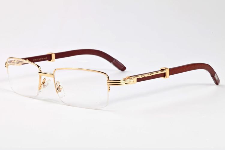 Nuevo 2017 de Super Vintage Buffalo gafas de sol del medio capítulo de gafas de moda gafas de sol retro marca de diseño de madera Gafas de sol