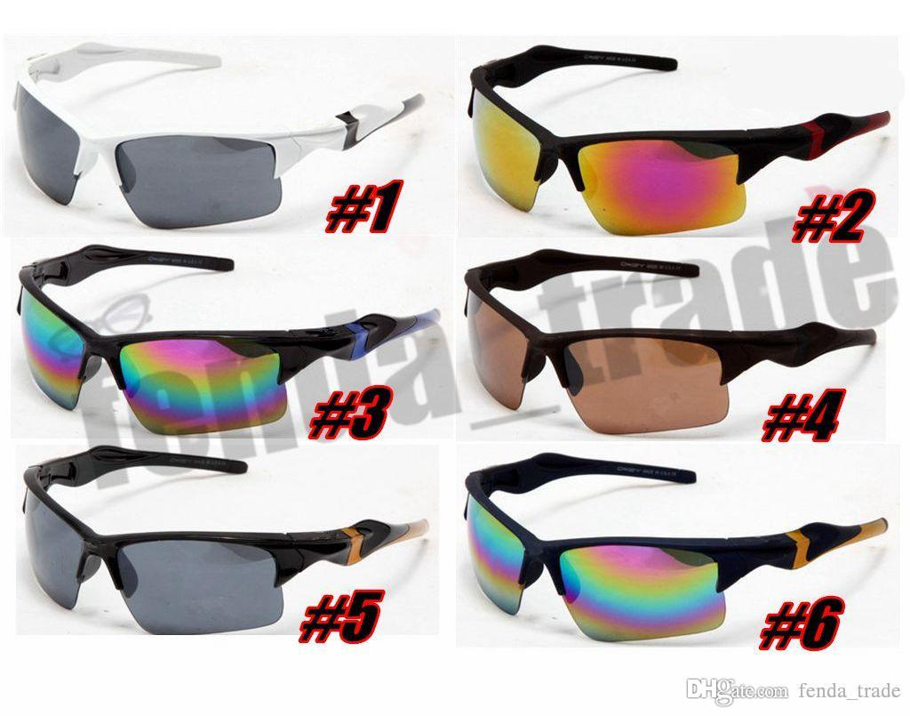 Brand designer CYCLING HOT 10PCS summer men sport SUN glasses driving sunglasses Bicycle Glass woman fashion outdoor glasses 6 colors