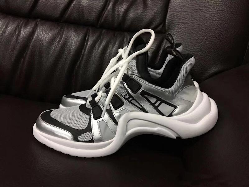 2020 delle donne Retro marca di estate arco traspirante scarpe da tennis per gli uomini donne papà scarpe moda casual stivali all'aperto dropship