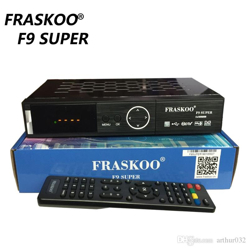 Fraskoo F9 Super Set Top Box Combo Dvb-t2/s2/c Be Used Support PowerVu and Biss key For Malaysia Russia