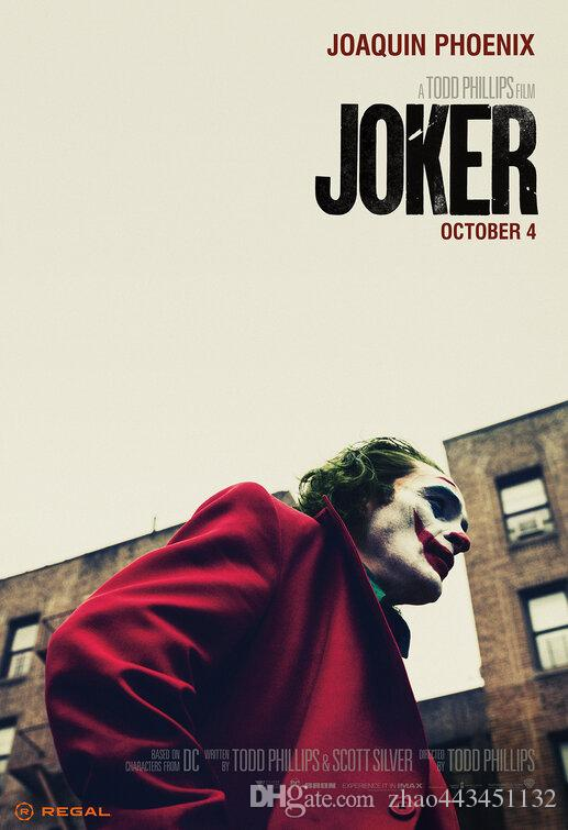 seda cartel Joker Lámina Puente de la película 04