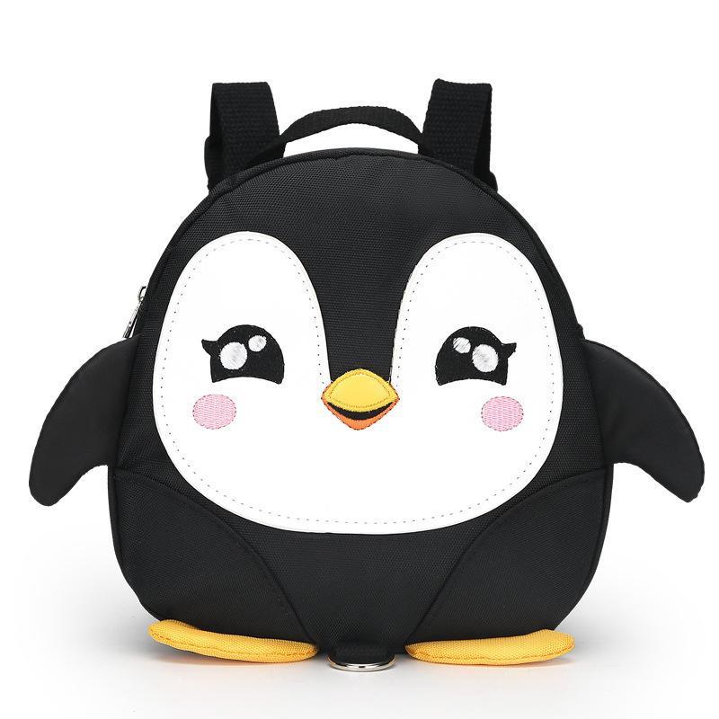 Мультфильм крылья пингвина анти-потерянный рюкзаки для малышей / водонепроницаемый детский сад дети школьные сумки / сумка для мальчика и девочки Mochila Y19051701