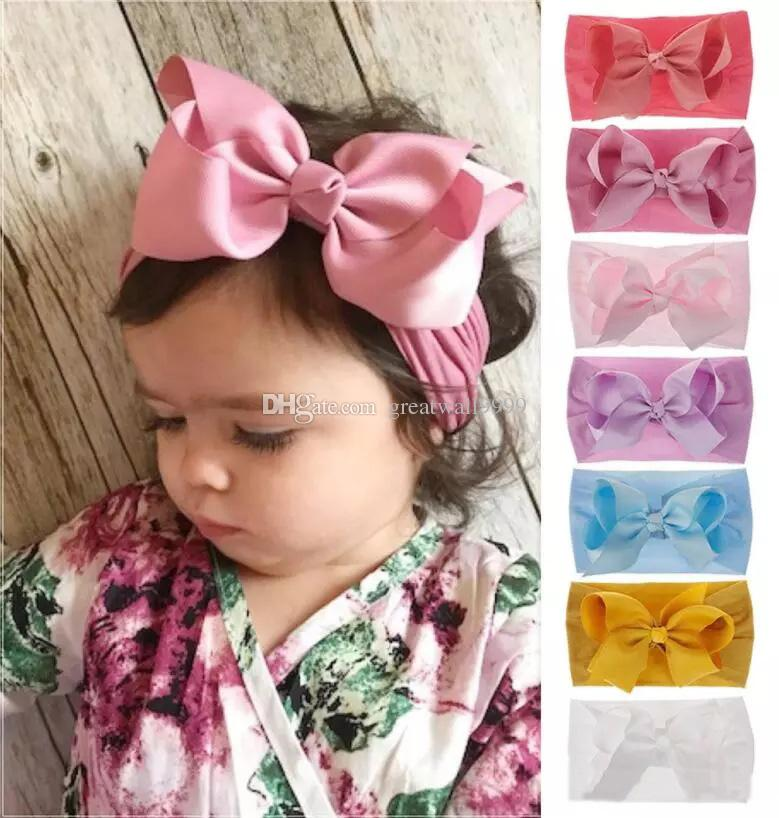Baby Bow Pale Blue Baby Girls Bows Baby Girl Headband Toddler Headband Gift