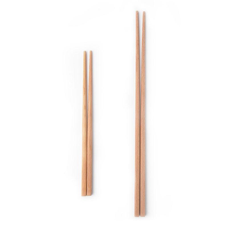 Doğal Ahşap Makarna Chopsticks Sağlıklı Yeniden kullanılabilir Mutfak Suşi Gıda Chopsticks Mutfak Derin Fried Ahşap Süper Uzun Chopsticks VT1587