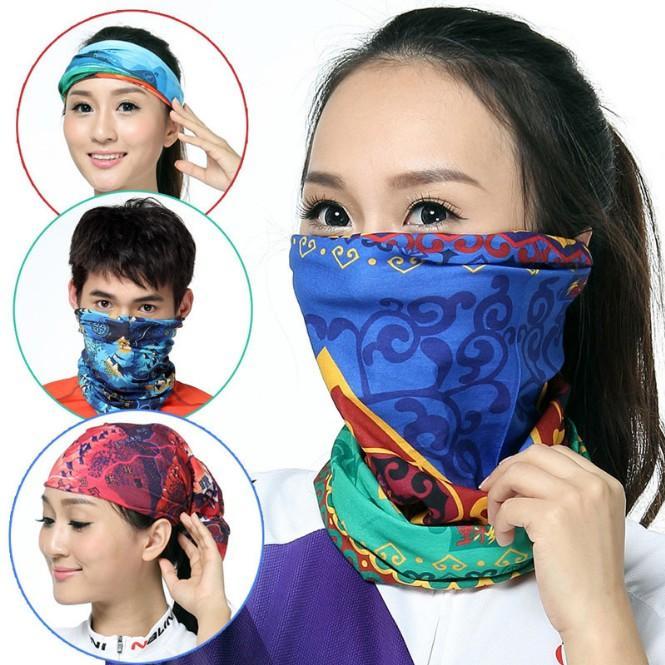 ألوان متعددة باندانا وشاح أنبوب رئيس قناع الوجه الرقبة الجرموق أغطية الرأس قبعة سنود 20 الألوان بالجملة