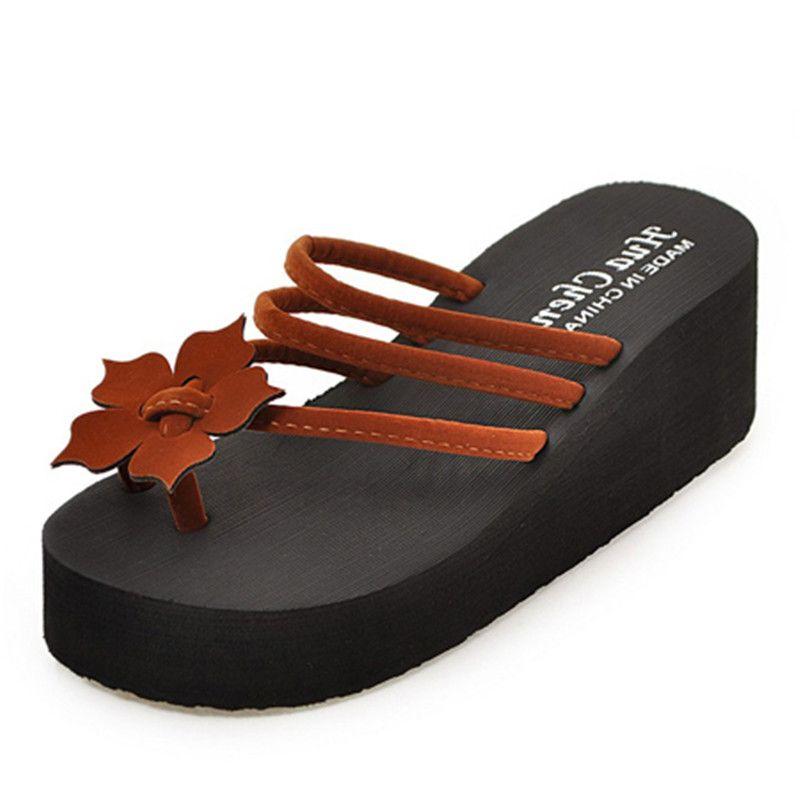 Sandali infradito donna estate infradito sandali con plateau donna Sandali infradito donna sandali infradito donna EVA 6cm nero pantofola